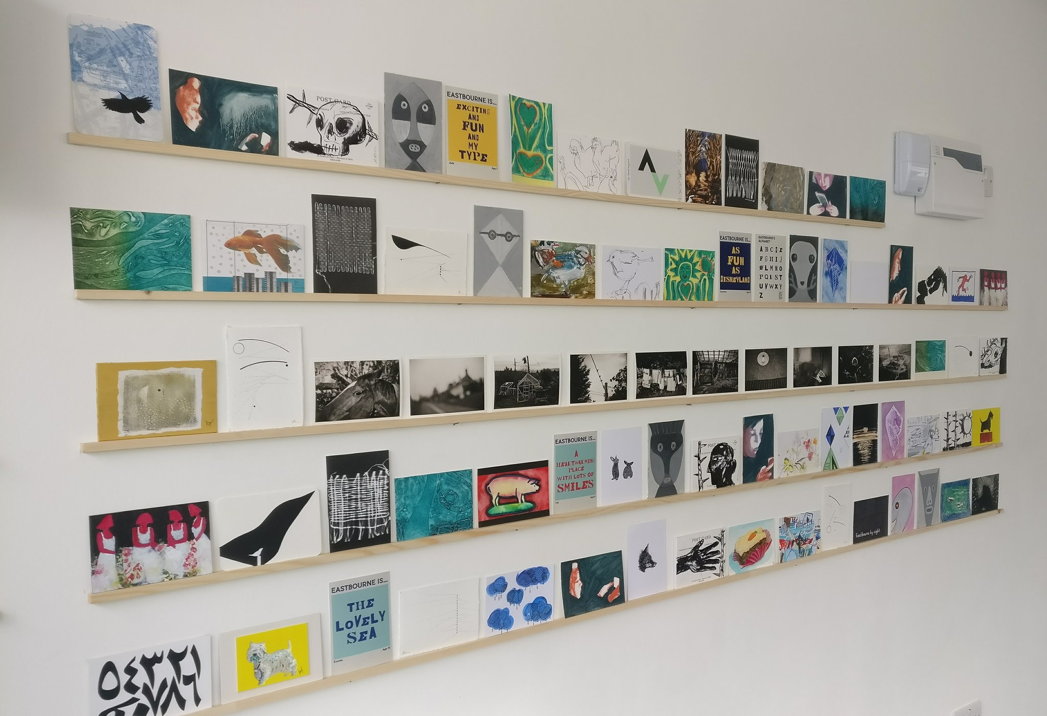 Open Call: DC Postcard Christmas Show! – New blank Postcards now available for collection at DC1